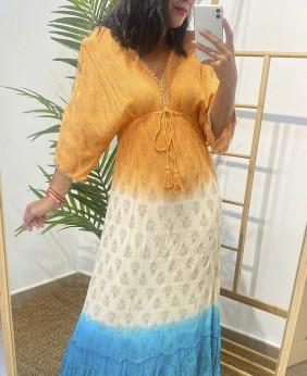 Vestido Hindu (Naranja)