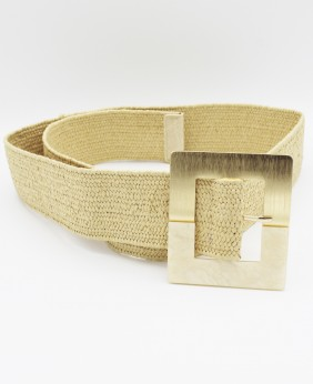 Cinturón Rafia New