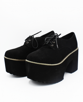 Zapatos Cordones (negro)