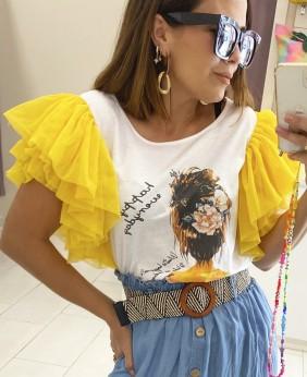 Camiseta Tul (Amarilla)