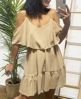 Vestido Laila (Beig)